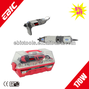 170W 3.2/2.4/1.6mm Rotary tool kit-Electric Mini Grinder (DC-170C-4)