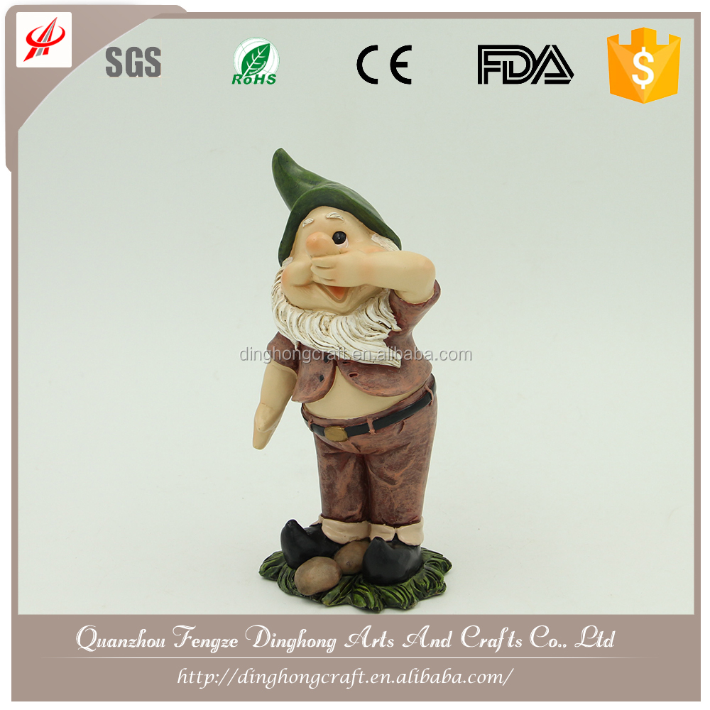 Polyresin Gnome Garden Decoration For Sale Gnome Craft
