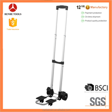 RH-30A mini folding luggage cart 30kgs load capacity airport hand trolley hand truck all-terrain hand truck