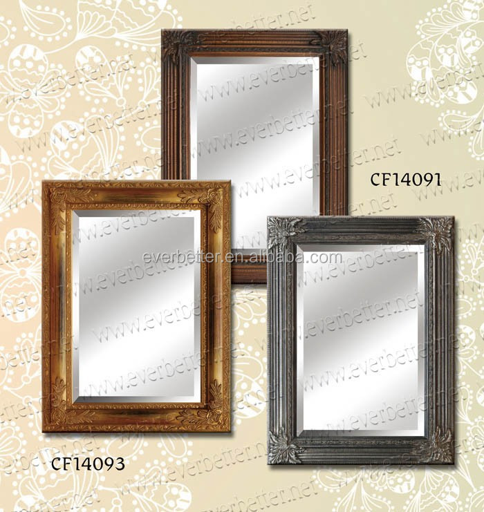 Wood wall mirrors are suitable home/hotel/exhibition gallery/office