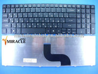 Notebook Keyboard for acer eMachines E640 E725 E727 RU layout black