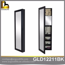 Modern design wall mounted furniture armoire with full length mirror