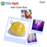 Herbal extract natural colorful hair dyes for hair highlight