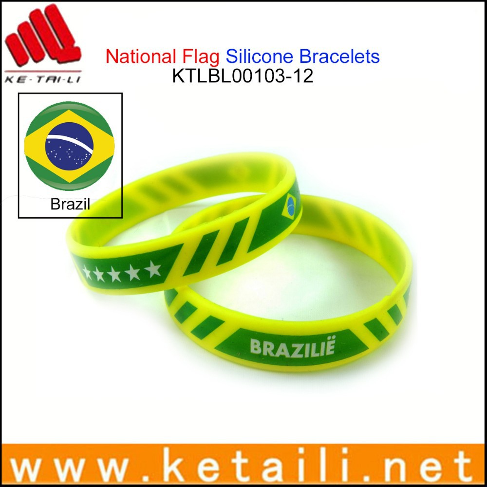 China Alibaba Wholesale OEM Design Silicone Bracelets South Africa Silicone Bracelet Band Silicone Bangle Bracelet Mold
