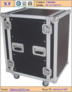 Aluminum flight case / toolbox