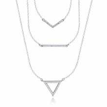 Different Types Of Silver Pendant Necklace Chains Jewelry