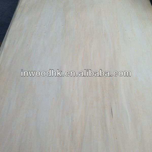 Rotary Cut Chinese Basswood Veneer with Good Quality