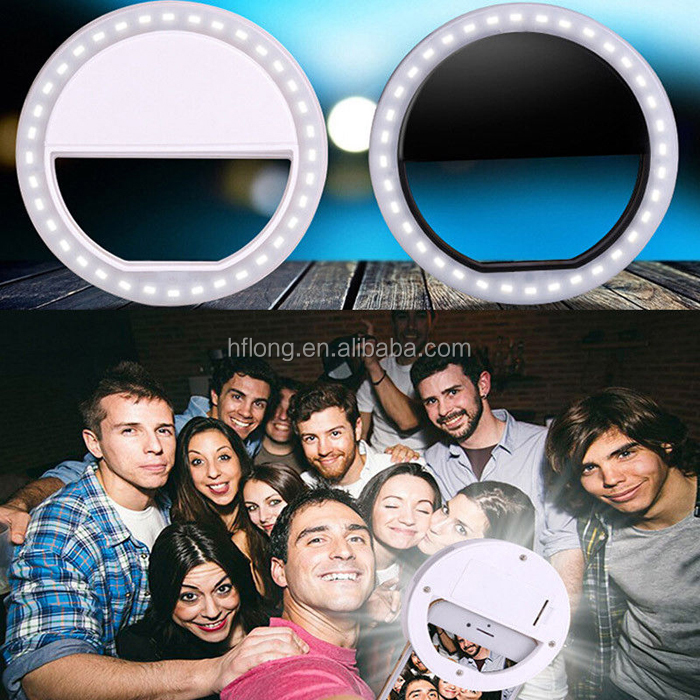 LED Selfie Beauty Flash Light Phone Camera Photography Ring Light