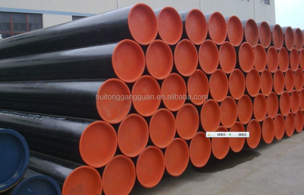 14 inch sch80 asme b36.10 astm a106 gr. b carbon steel seamless pipe with plain ends (PE)