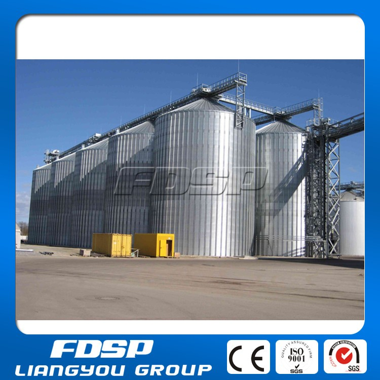 Large Capacity Rye Silo Brewery Silo With High Quality Thick Steel ...