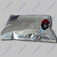 factory direct 5L hot sales wine bag in box