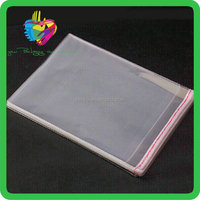 YiWu cheap high quality manufacturer of wholesale opp self adhesive plastic bag