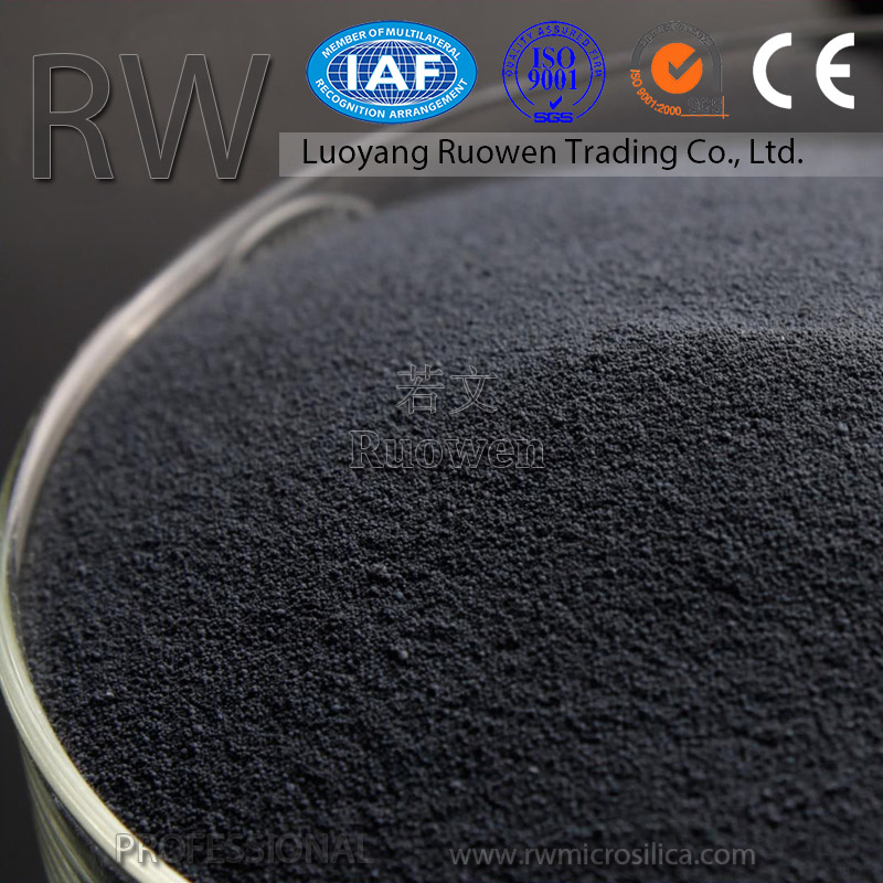 High purity Mineral material porous concrete used admixture silica fume online shopping
