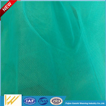 high quality 40D Polyester switzerland mesh fabric for dress and wedding dress textile China suppliers
