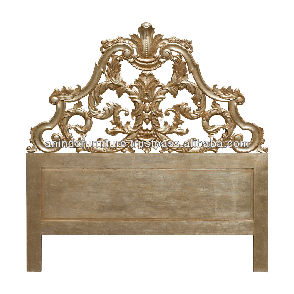 Manikam Heavy Carved Headboard
