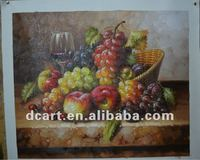 Famous still life oil painting of fruits