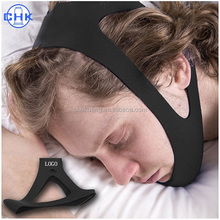 New design triangle type stop snoring belt support anti snore chin strap