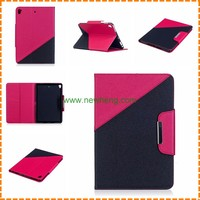 Factory Hit Color Design Flip stand Tablet leather case for ipad mini 4
