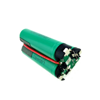 3S1P 2000mAh rechargeable battery pack , 10.8V battery pack for electric tools battery