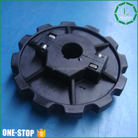 OEM injection molded plastics products power transmission parts nylon PA66 PA6 star gear wheels