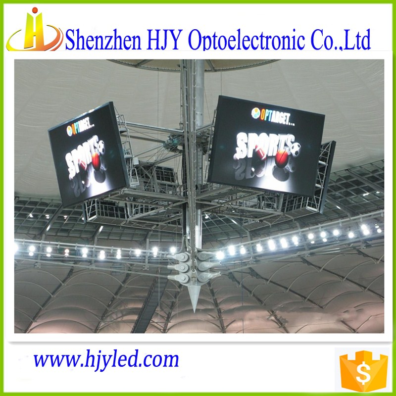 top sale water proof full color P16 outdoor stadium sports live cricket match led screen/led display