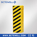 Plastic parking barrier for toll station