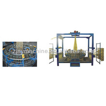 High speed circular weaving loom for mesh(leno) bag