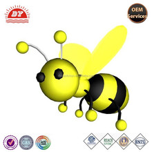 Factory price high quality plastic mini bee action figure, animal figurines