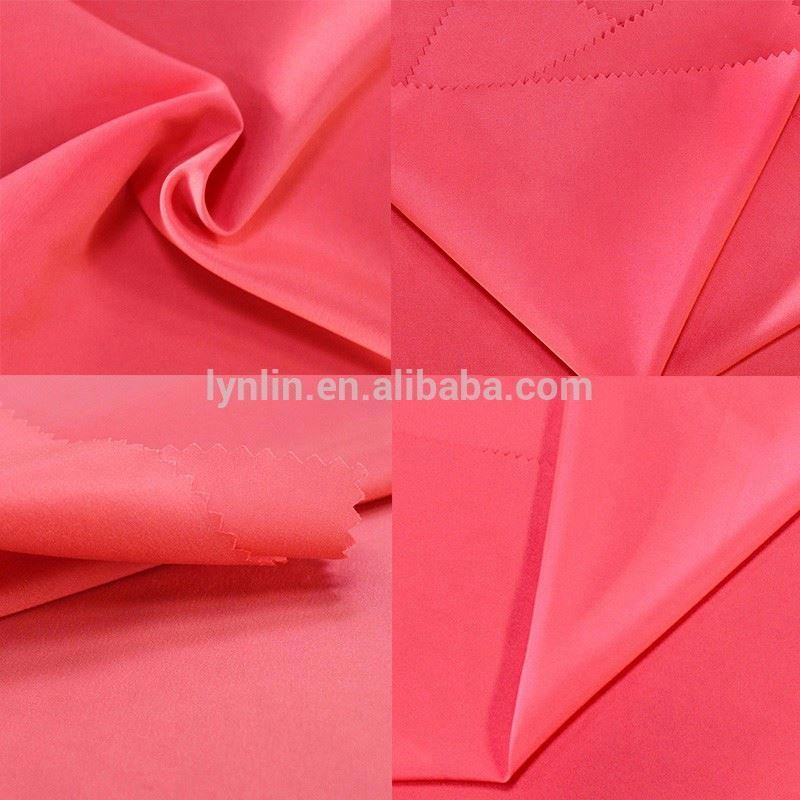 145gsm online shopping plain dyeing satin weaving wicking fabric for clothing