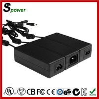 High Efficiency 12V 6A Desktop Adapter 72W with UL SAA CUL Certification