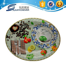 Clear Washable Reusable Dinner Wholesale Plastic Plates