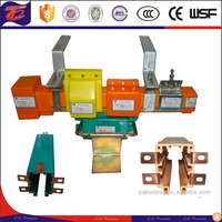 Electric Power Distribution Guide Rail/insulation enlosed flexible copper crane rail system