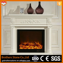 Hot selling natural stone fireplaces rate electric fireplaces mental