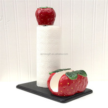 Hot Sale Handmade Strawberry Napkin Holder Set