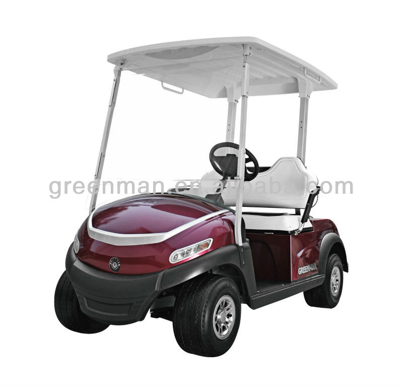 2 seat cheap electric golf car