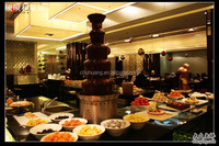 Free shipping!! 5 Tiers Electric chocolate fountain for party and wedding