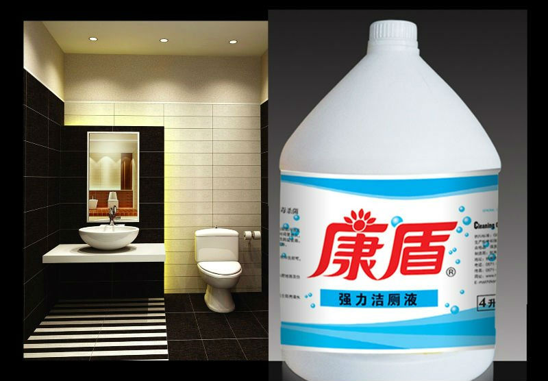 liquid toilet/bathroom cleaner, Odor and Stain Remover