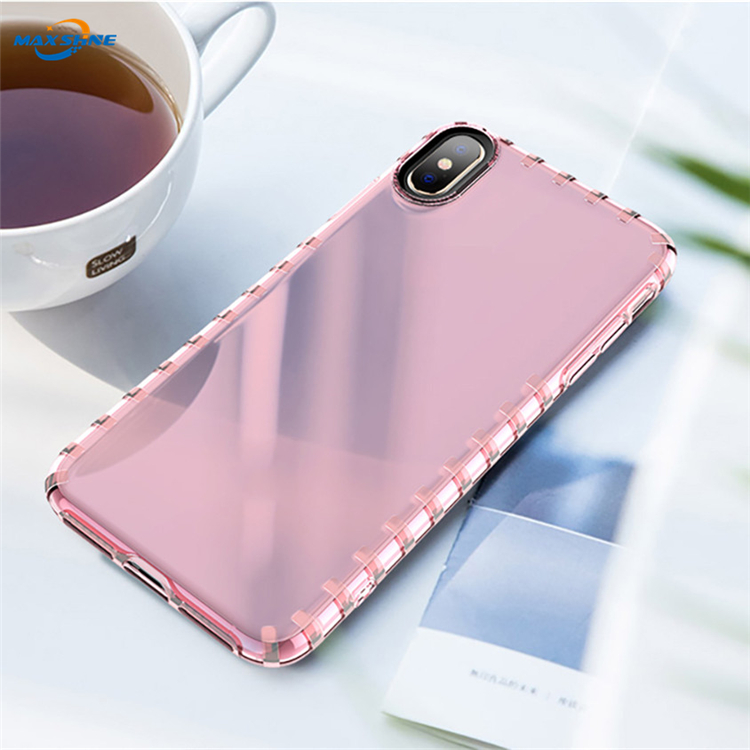 Maxshine Ultra Slim Soft Tpu Case Transparente Cover For Samsung A9 A7 2018 S10 Plus