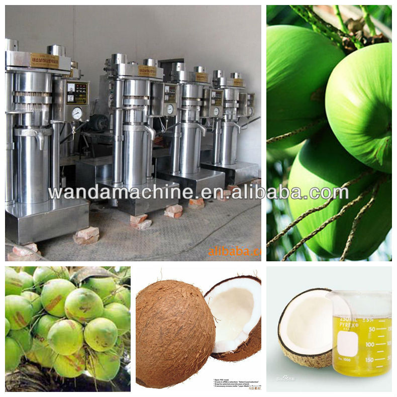 mini fresh coconut fruit oil extraction machinery with Environmental protection