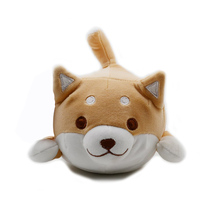 Factory Customized Cute Shiba Inu Dog Plush Stuffed Toys for baby sleeping pillow doll with cute <strong>animal</strong>