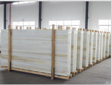 China original highest quality artificial marble with yellow veins