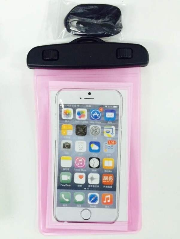 Promotional Colorful waterproof cell phone bag for smartphone