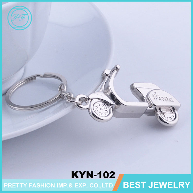 Creative Gifts Women's Motorcycle Keychain Custom Logo Key Rings