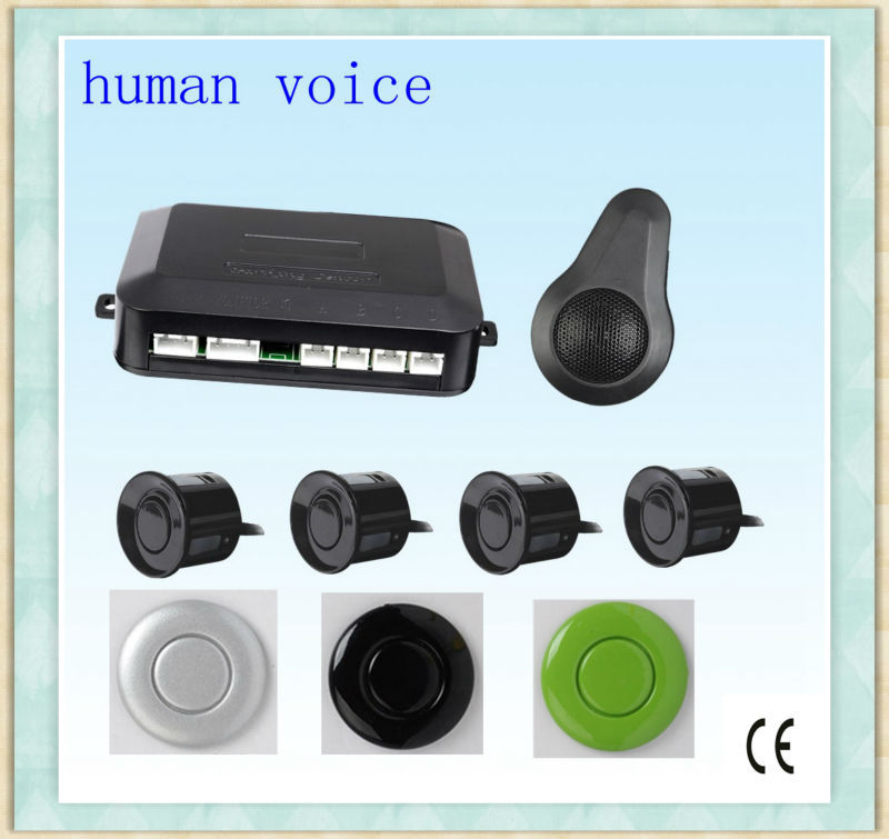 Hot sale buzzer or human voice parking sensors,reverse backup radar
