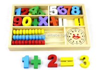 High Quality Education wooden counting stick toy for kids
