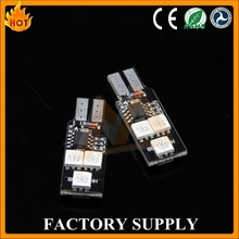 2016 Top quality low defective super Car Smd Light T10 Led Bulb