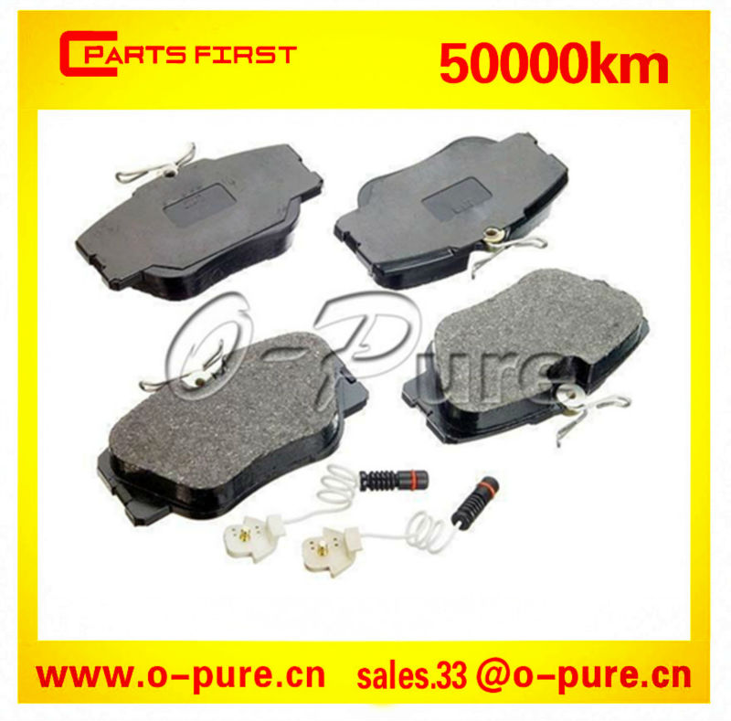 Spare parts for MERCEDES BENZ E-CLASS W124 A124 S124 O-pure ceramic brake pads 000 420 07 20 none asbestos good quality