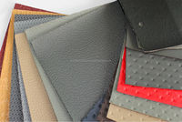 PVC Artificial Leather with assorted colors and designs