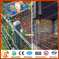 Popular sale metal steel garden balusters low garden fencing with free loading