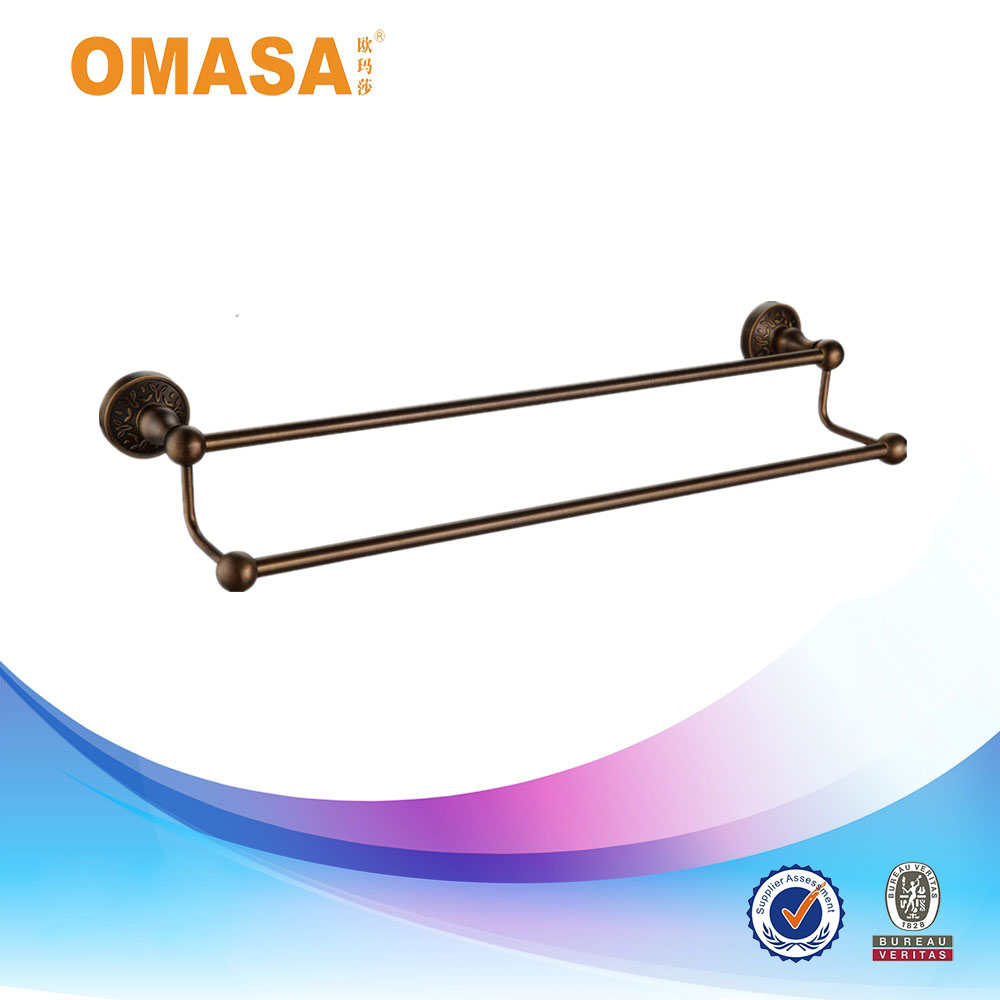 China Wholesale Bronze plated Double Towel Bar good quality